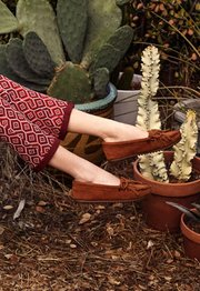 women moccasin